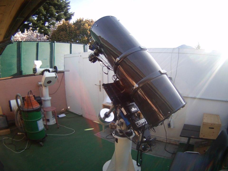 Remote teleskop der bav